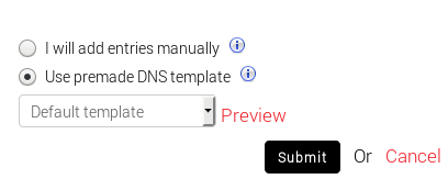 Add domain into DNS Manager